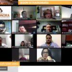 IEE: Realiza Consejo General del IEE Sonora sesión virtual extraordinaria